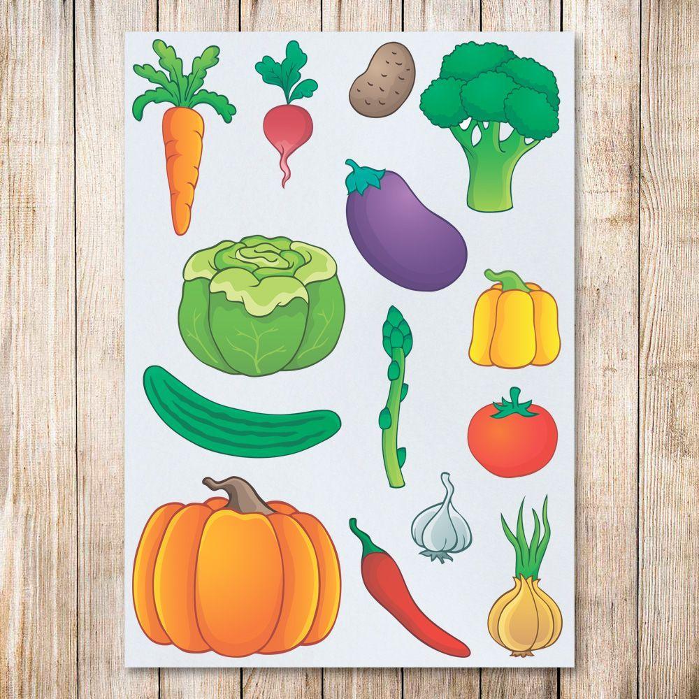 отлично овощи фрукты картинки как рисовать настигает жертву